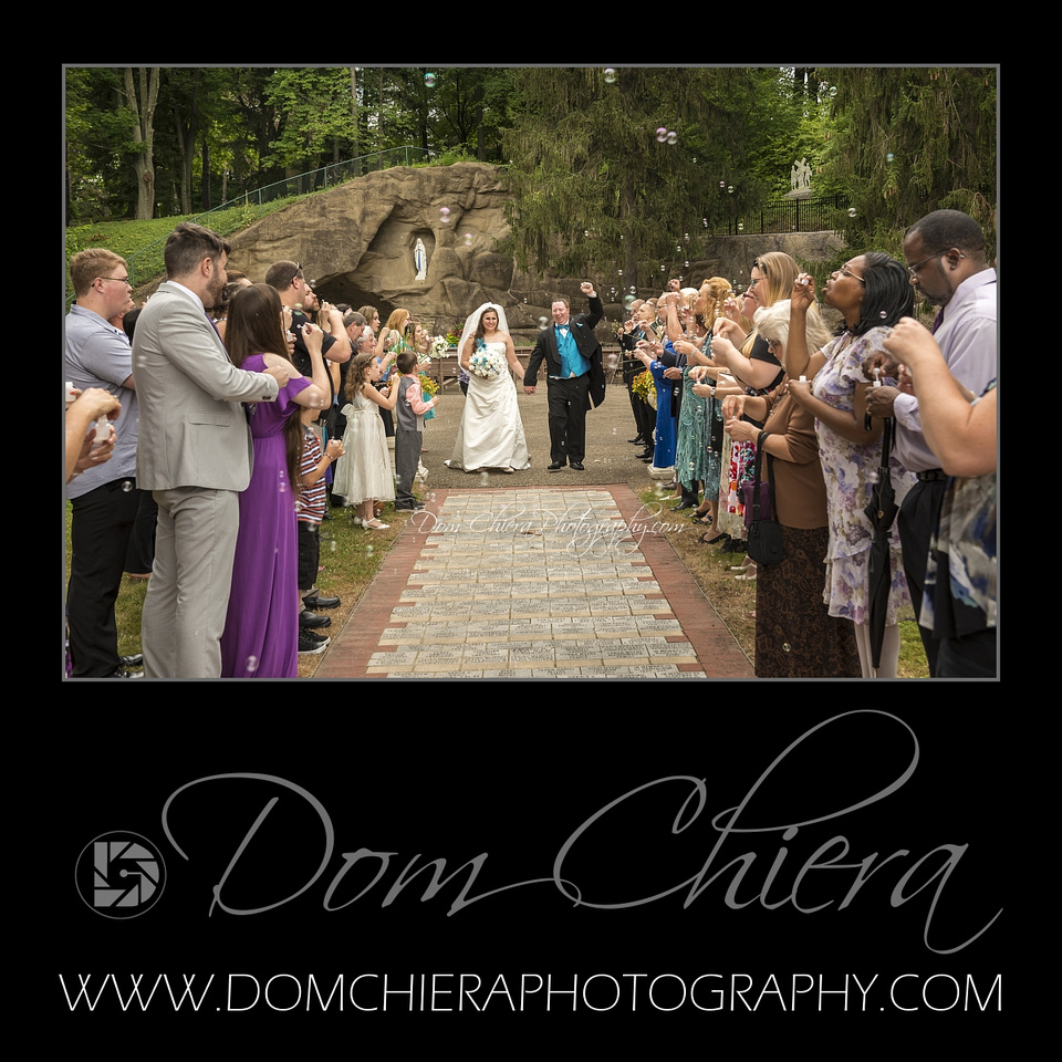 Grotto Wedding at St. Joseph Mogadore, OH