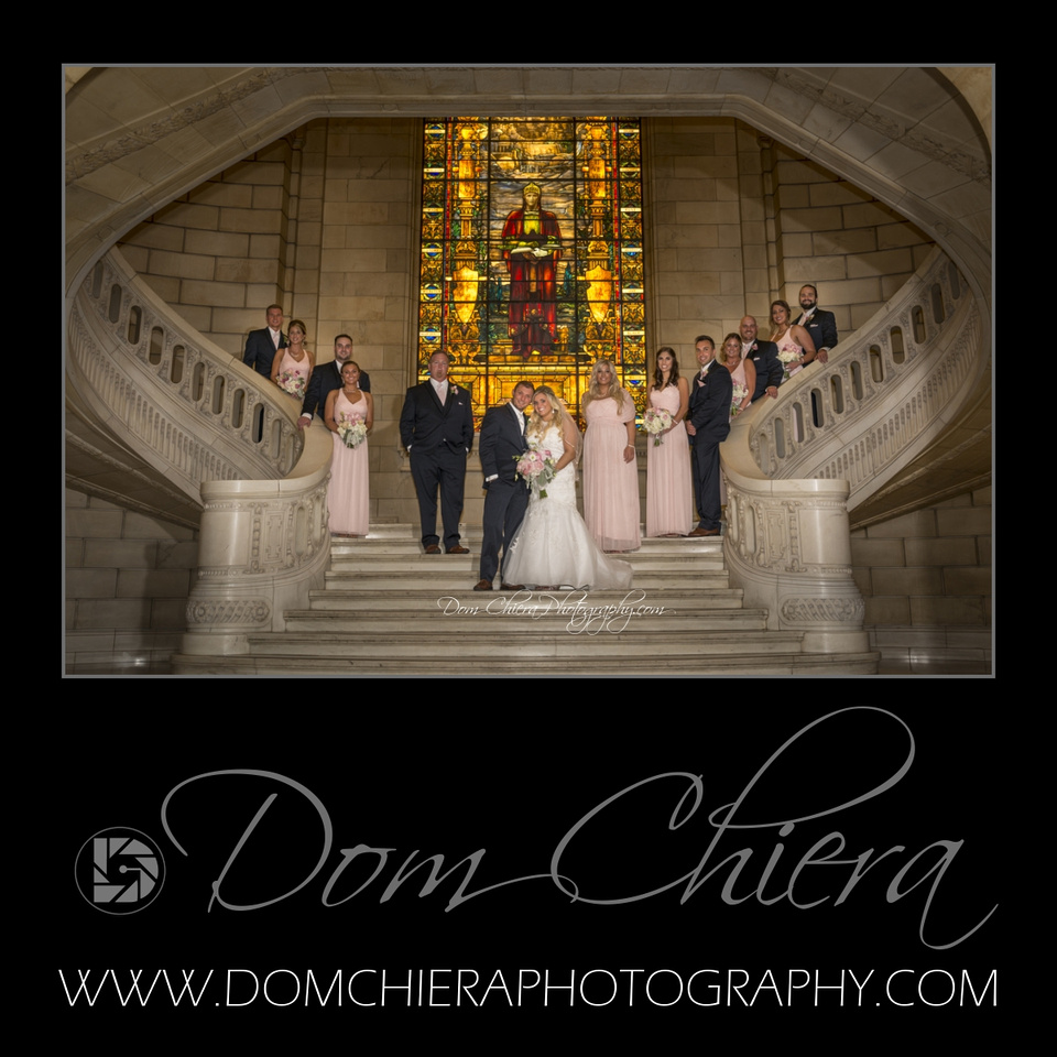 Wedding at Cuyahoga County Courthouse